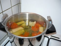Soupe d'herbe
