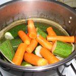 Gratin courgettes et carottes