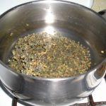 Lentilles à la saucisse